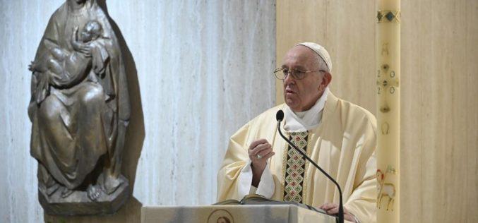 Папата Фрањо : Да го молиме Господ за свесност за припадноста кон народот
