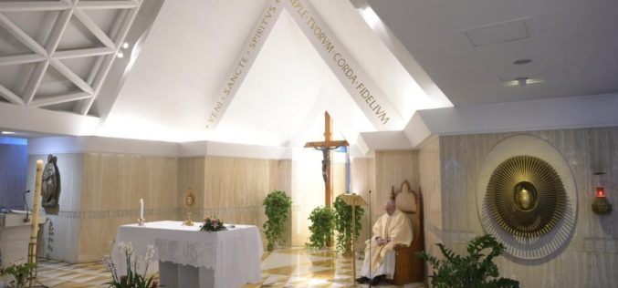 Папата Фрањо: Да дозволиме Господ да нè утешува