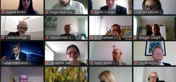 Регионална конференција на Каритас Европа 2020