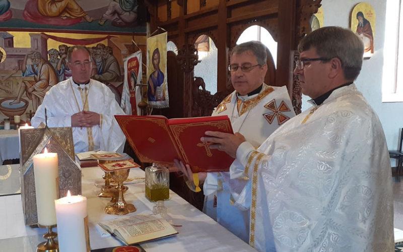 Посвета на миро во Струмичката катедрала