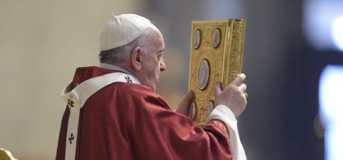Папата Фрањо: Бог од нас бара да бидеме вистински пророци и градители на единството