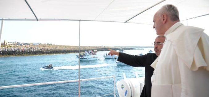 На годишнината од посетата на Лампедуса Папата ќе служи света Литургија