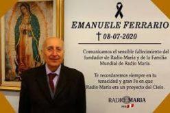 Епископот Стојанов упати телеграма со сочувство по повод смртта на г-дин Емануеле Ферарио