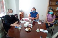 Директорот на Каритас оствари средба со здружението Лидија – срце што чука