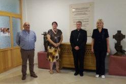 """Бискупот Стојанов ги прими претставниците на здружението """"За нас"""""""