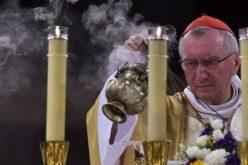 Кардинал Паролин во Лурд