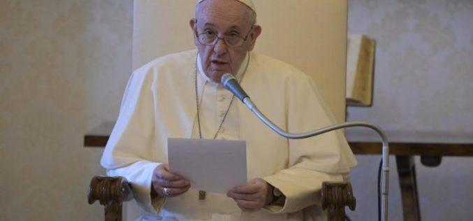На Генералната аудиенција Папата зборуваше за раните од пандемијата