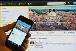 Порака на Папата на Твитер