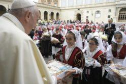 Генералните аудиенции на Папата од 2 септември со присуство на верници