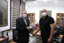 Бискупот Стојанов оствари средба со градоначалникот на Куманово Димитриевски
