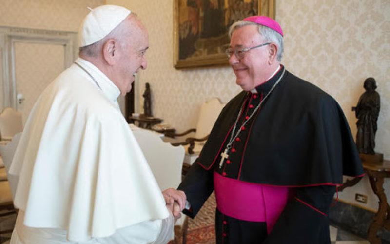 Папата го прими кардинал Холерих
