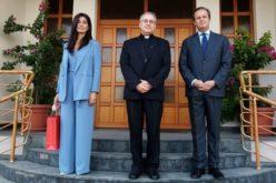 Бискупот Стојанов го прими во проштална посета амбасадорот Ромеро