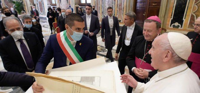 Папата Фрањо: Данте e пророк на надежта