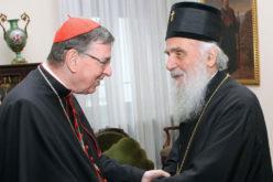 Телеграма на сочувство на кардиналот Кох за смртта на патријархот Иринеј
