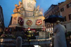 Пред статуата на Богородица Папата се помоли за Рим и целиот свет