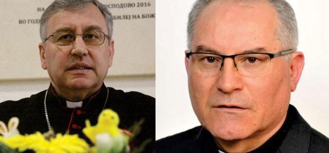Бискупот Стојанов упати честитка до новоименуваниот которски бискуп Иван Штироња