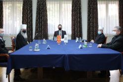 Средба на верските лидери и директорот на КОВЗРГ
