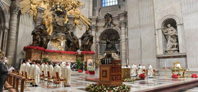 Папата: Годината ќе биде добра ако се грижиме за своите ближни