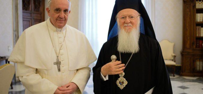 Папата повика на молитва за единство на христијаните