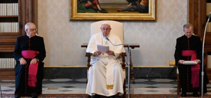 Генерална аудиенција: Да се молиме единството да надвладее над конфликтите