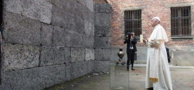 Апел на папата Фрањо на Денот за сеќавање на жртвите на холокаустот