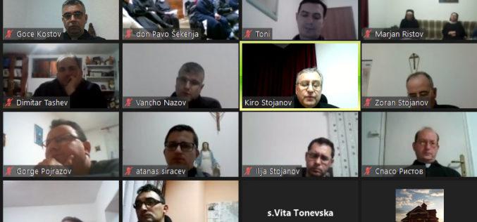 Виртуелна средба за Денот на богопосветените лица