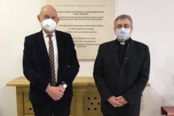 Бискупот Стојанов го прими амбасадорот на ЕУ во Македонија