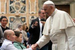 Близина на Папата со децата болни од малигини заболувања