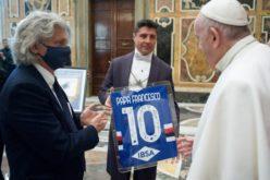 Папата ги прими фудбалерите на Сампдорија