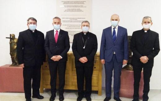 Бискупот Стојанов се сретна со Државниот секретар за Хрватите надвор од Хрватска г-дин Звонко Милас