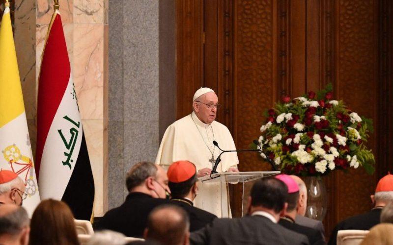 Папата во Ирак: Доаѓам како поклоник на мирот во името на Христос, Кнезот на мирот