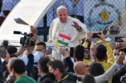 Папата: Ирак секогаш ќе остане во мене, во моето срце