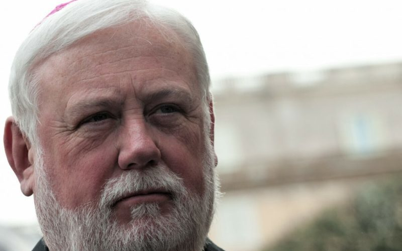 Надбискупот Галагер: Папата сака да го спаси христијанството на Блискиот Исток