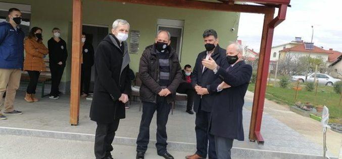Амбасадорот на Словенија во посета на центарот Мајка Тереза во Гевгелија и Едукативниот центар во Сарај