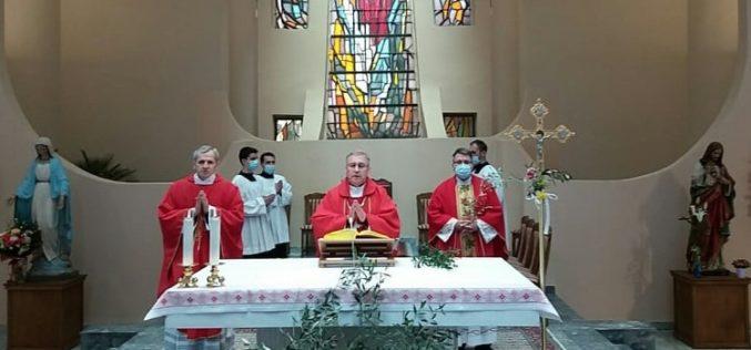 На Цветници бискупот Стојанов служеше во Скопската катедрала