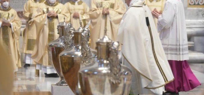 Папата: Навестувањето на Евангелието секогаш е поврзано со прифаќањето на крстот