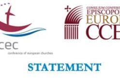 Заедничка изјава на претседателите на ССЕЕ и СЕС по повод 20 годишнината од Екуменската повелба