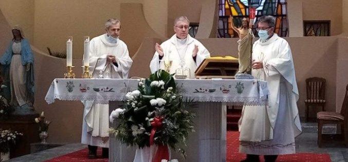 Бискупот Стојанов служеше света Литургија за покојниот монс. Јоаким Хербут
