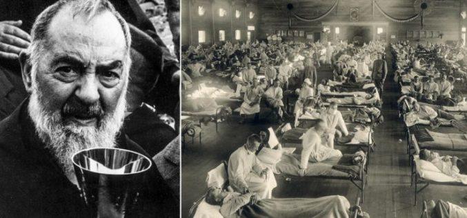 Како Падре Пио гледал на шпанскот грип во 1918
