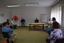 Средба во Македонски Каритас за социјално претприемништво