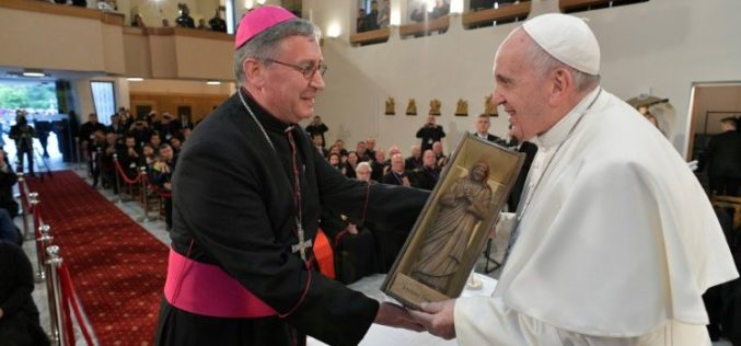 Благодарствена света Литургија по повод две години од посетата на папата Фрањо во Македонија