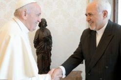 Папата го прими иранскиот министер за надворешни работи и разговараше со турскиот претседател Ердоган