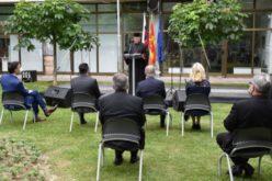 Епископот Стојанов и архиепископот Васил во Скопје присуствуваа на манифестација во чест на Светите Кирил и Методиј