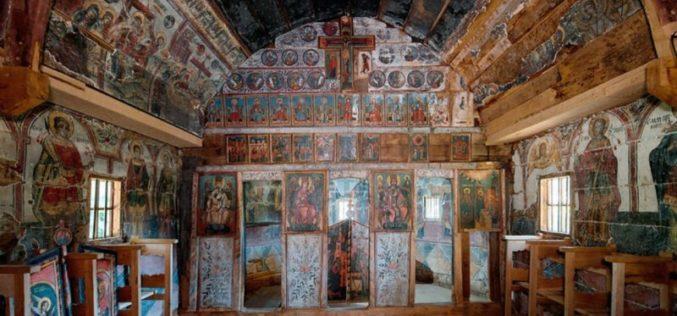 Дрвената црква во Романија ја освои наградата на Европската Унија за културно наследство Europa Nostra'