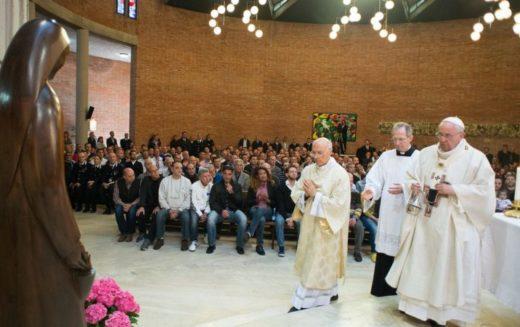 Римски затвореници го посетија Папата