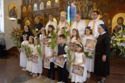 "Прва света Причест во Катедралата ""Успение на Пресвета Богородица"" во Струмица"