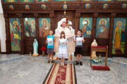 """Прва света Причест во католичката црква """"Свети Кирил и Методиј"""" во Петралинци"""