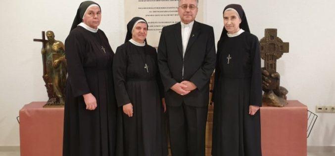 Епископот Стојанов го прими новото раководство на Сестрите Евхаристинки во Македонија