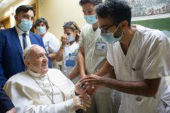 Папата се заблагодари на болницата Џемели