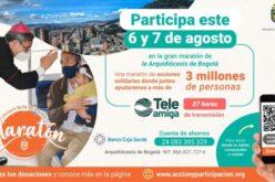 Црквата во Колумбија со маратон на солидарност тргнува во акција